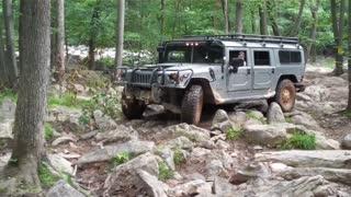 Hummer H1 - Rausch Creek - Rock Crawl - 1