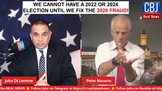 Peter Navarro Talks about How we must fix the Fraud of the 2020 Election...
