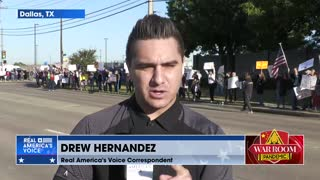 Hundreds Of Southwest Airlines Employees Protest Against Vaccine Mandates Outside Love Field