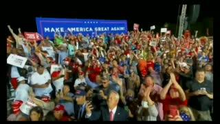 Trump Peaceful Protest Rally Pensacola Florida 10-23-2020