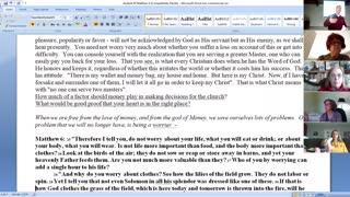 Matthew Bible Study 12