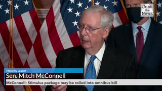 McConnell: Stimulus package may be rolled into omnibus bill