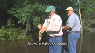 Salem Canal bass fishing