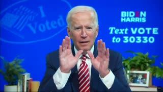 Did Joe just admit to democrat Voter Fraud? 18