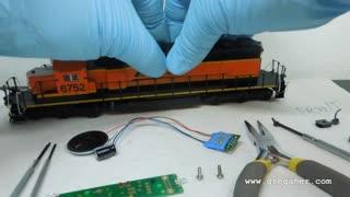 Decoder Install Kato SD40-2