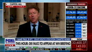 Sen. Rand Paul Rips Anthony Fauci Over Conflicting Pandemic Advice