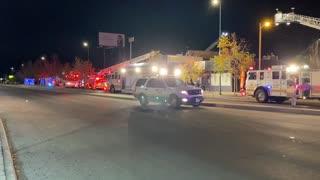 Fire in Denver Colorado
