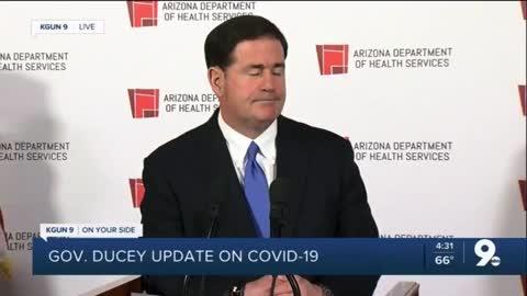 Gov. Doug Ducey (R-AZ) Refusing to Call a Special Session of the AZ Legislature