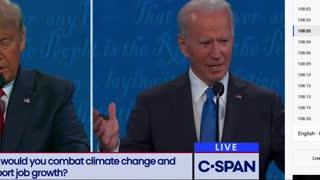 Joe Biden lies about fracking