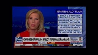 Multiple types of voting fraud - Laura Ingraham