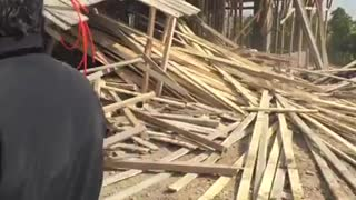 new build building demolish from illegal builder