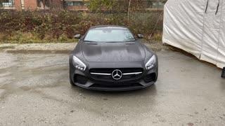 Luxury Mercedes Benz Car A-Class Face Challenge