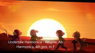 Undertale Harmonica - Respite - Ab Harmonica (tabs)