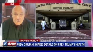 Rudy Giuliani On President Trump's Health