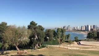 Tel Aviv, Israel seen from Jaffa/Joppa