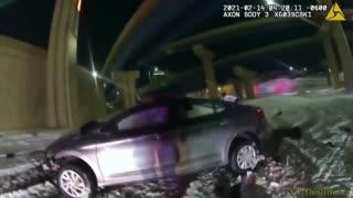 BODYCAM: HORRIFIC Crash as Wisconsin Driver Plunges Off Interchange