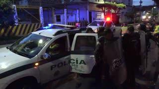 Construcción de ciclorrutas en Bucaramanga enfrenta a la comunidad y a la Policía
