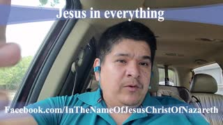 Jesus in everything