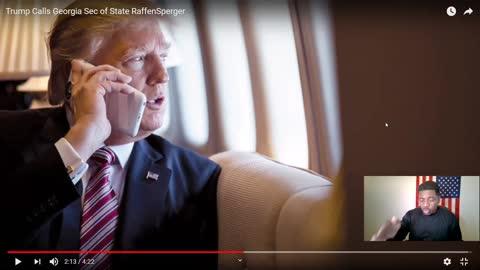 President Trump Calls Georgia's State Secretary Brad Raffensperger