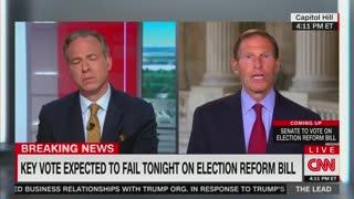 Jake Tapper press Blumenthal on filibuster