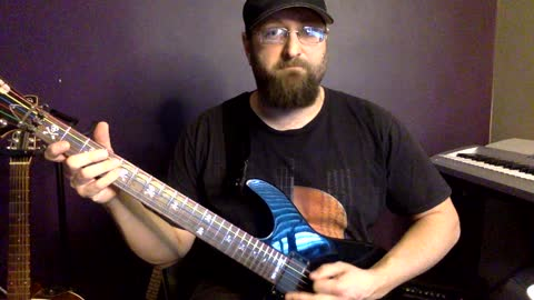 How to play creeping death by Metallica on guitar