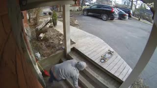 Man Finds Stairs Harder Than Skateboarding