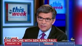 Senator Rand Paul comments on Joe Biden and his son