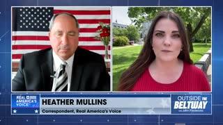 Heather Mullins updates John Fredericks on the Fulton County election audit