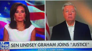 Lindsey says trump has Unfinished business 07/17/2021