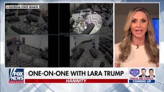 Lara Trump alleges egregious voter fraud took place in Georgia
