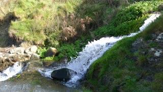 small water fall