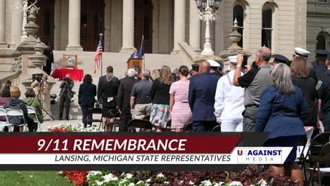 9/11 Remembrance - Lansing, Michigan State Representatives
