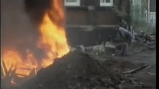 Fred Dibnah How to bring down a chimney stack
