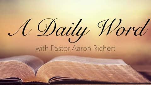 A Daily Word - November 25