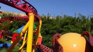 Disney Hollywood Studios Toy Story Slinky Dog Dash