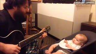 Filho adora música cantada pelo pai!