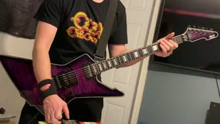 Amon Amarth - Destroyer of the Universe (guitar cover)