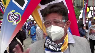 Thousands of Colombians protest tax proposals