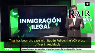 Assassination Attempt in Spain: 'Refugees' Ambush and Beat VOX's Rubén Pulido outside his Home