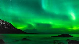 Alaska - Northern Lights Stock Footage