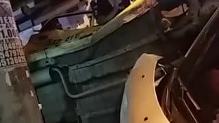 Video: Accidente en el barrio Villabel de Floridablanca dejó tres lesionados