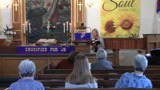 Palo Congregational Sunday Service for April 25, 2021
