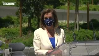 """Pelosi MALFUNCTIONS on Live TV - Calls Liz Cheney """"Lynne Cheney"""""""