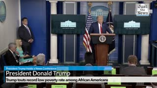 Trump touts record low poverty rate among African Americans