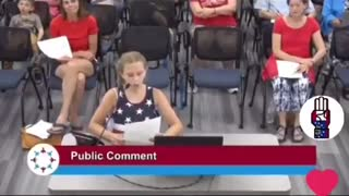 WATCH: 9-Year-Old Girl OBLITERATES School Board Over BLM Posters