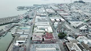 Drone Captures Empty City of San Francisco