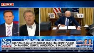 Rand Paul on Biden's Economy and Unity