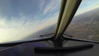 Time-lapse flight Frankfurt (FRA) to Chicago (ORD)