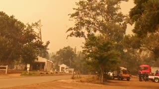 Cape firefighters battle Jonkershoek wildfire