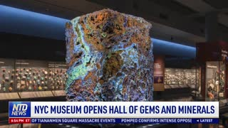 NYC Museum Opens Hall of Gems and Minerals